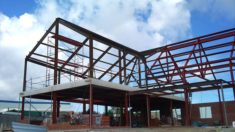 Construcciones met licas crugar en a coru a - Estructuras de metal ...